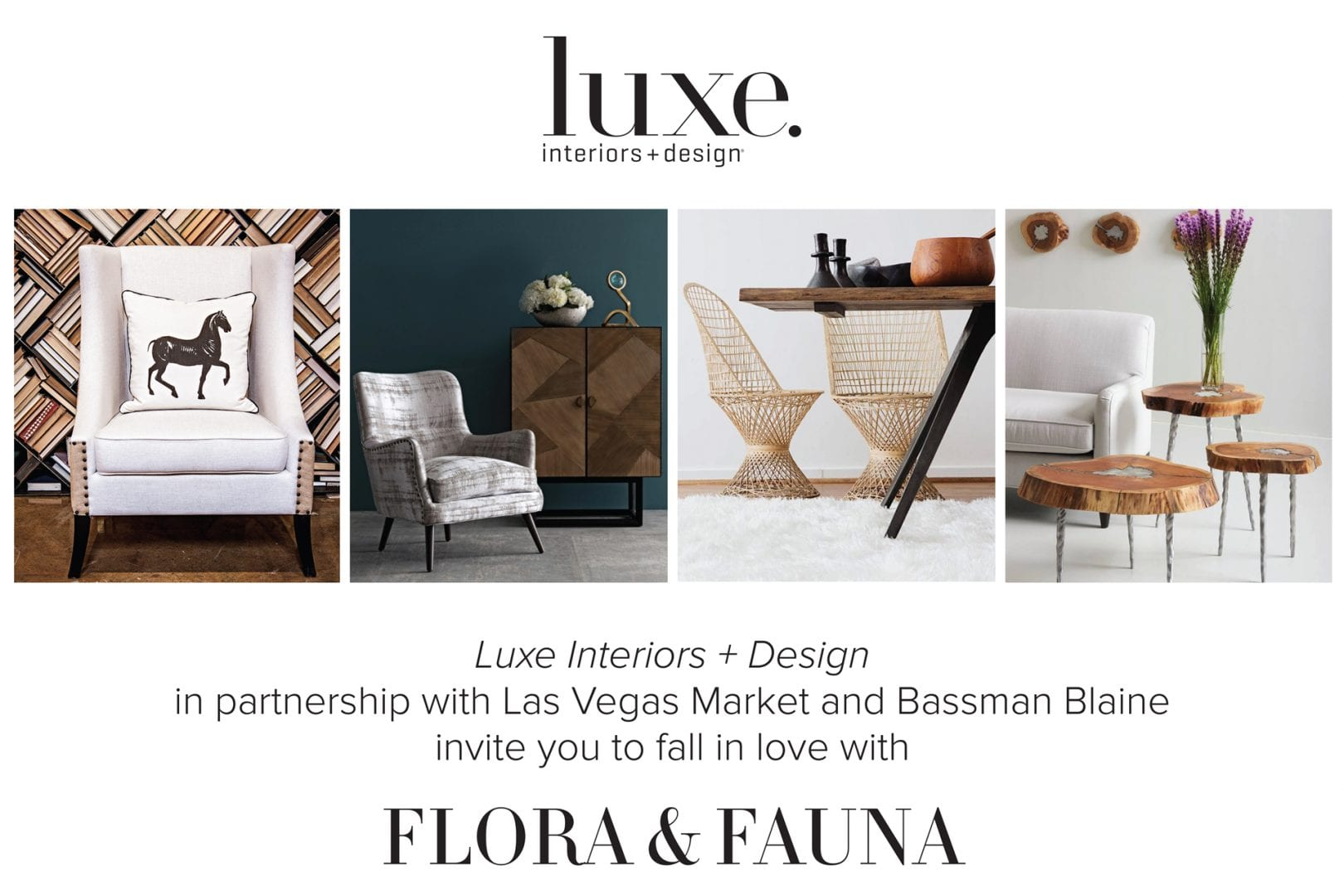 Join Us In Our Laguna Showroom During Design Centers Fall 2017 Market With Luxe Interiors A Toast To Flora Fauna Presentation